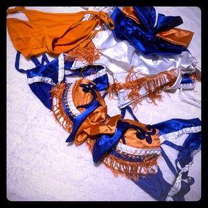 Rave Cheerleader festival outfit- Denver Broncos!